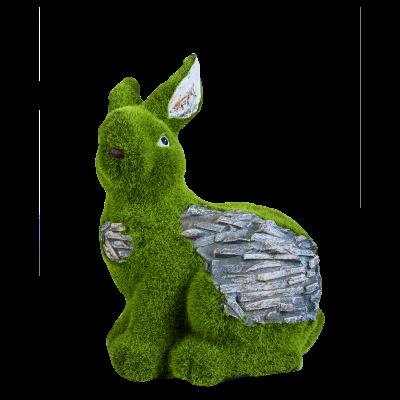 Rabbit Sculptures Artificial Grass( SCULP-GL-004 )