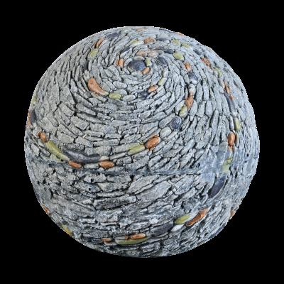Sharpex mock stone ball shape Garden Statue stone