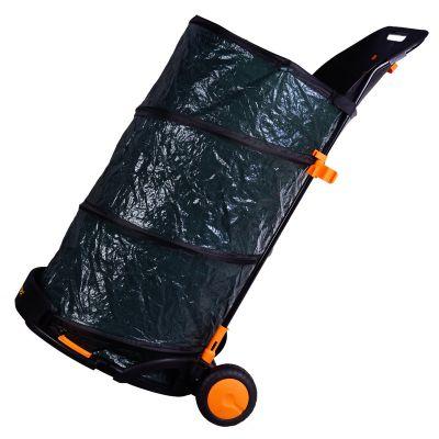 Sharpex Multi-Purpose Garden Waste Trolley Bin (Green)