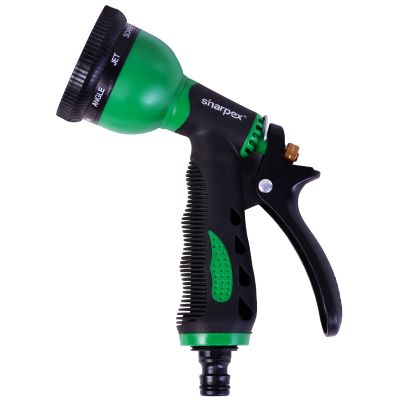Hose Nozzle with 8 Patterns