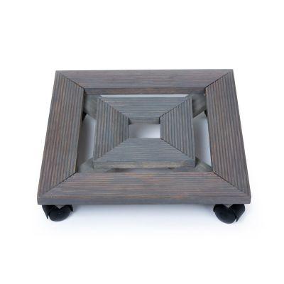 Wooden Trolley - Grey (TRL-GY-014)