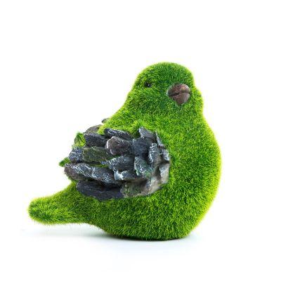 Sharpex baby bird shape Garden Animal Statue (Artificial Grass)