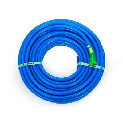 Sharpex Hybrid Heavy Duty Light Weight Garden Hose for Watering and Washing 30 MT (Blue)
