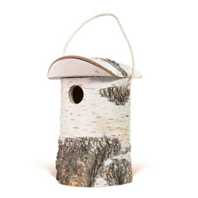 Sharpex Bird Nest  for garden and home(Wooden Color)