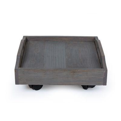 Wooden Trolley - Grey (TRL-GY-012)