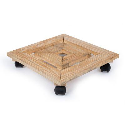 Wooden Trolley - Brown (TRL-BR-014)
