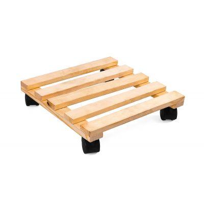 Wooden Trolley - Beige (TRL-BE-002)