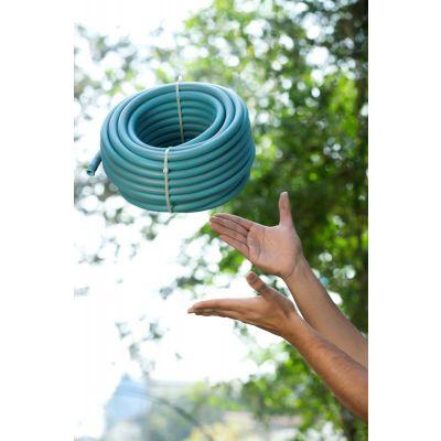 Hybrid Heavy Duty Light Weight Garden Hose/Garden Pipe - 10 MT (BLUE)
