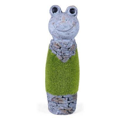 Frog Sculptures Artificial Grass( SCULP-GL-014 )