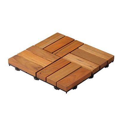 Teak Wood Deck Tiles (1 PC)