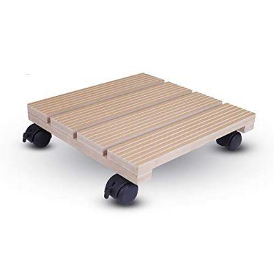 Wood Trolley - Beige (TRL-BE-015)