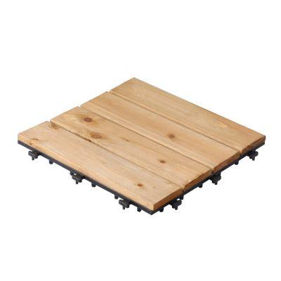 Fir Wood Deck Tiles (1 PC)